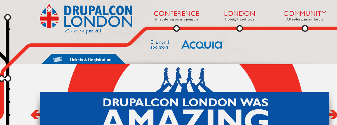 DrupalCon London 2011